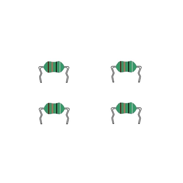 AS型弯脚色环电感