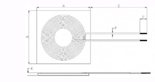 无线充TX系列尺寸图