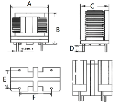 共模电感SQ1515