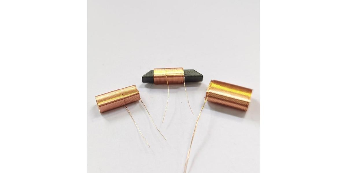 线圈电感在线圈磁芯上的输电线要互相绝缘层