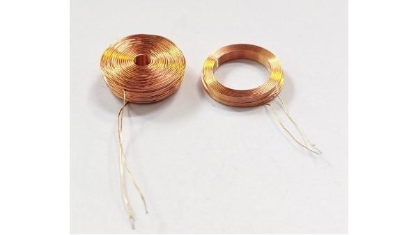 单双面绕线电感间绕法的盘绕方法