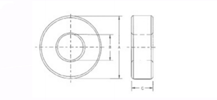 锰锌磁环尺寸图