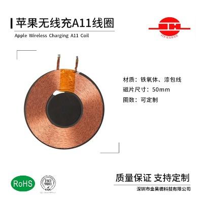 苹果A11无线充线圈