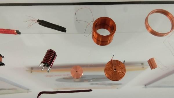 感器线圈的单层缠绕法