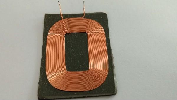 电感线圈的双层缠绕法
