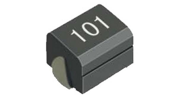 屏蔽贴片式电感构造绕阻